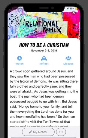 Sandals Church App